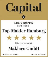 Auszeichnung Capital Maklaro