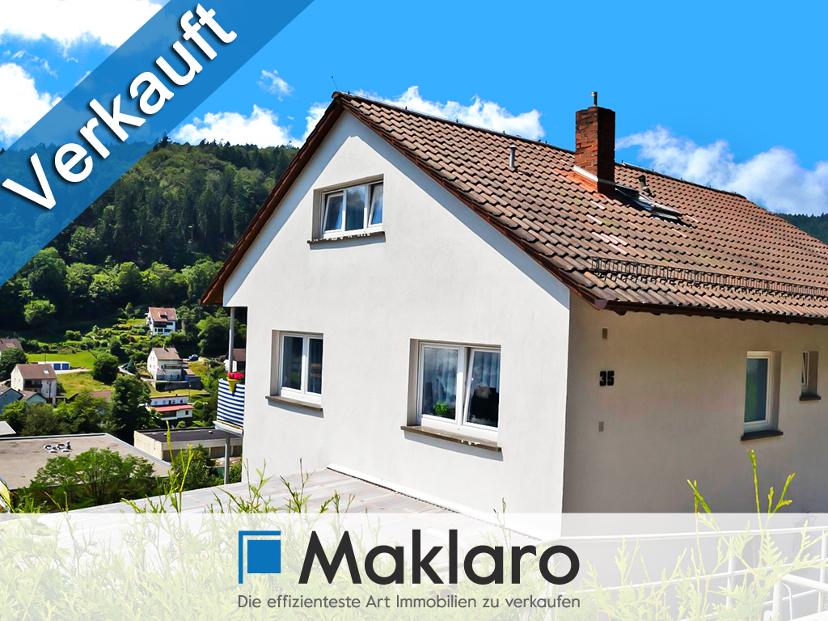 +++ Ruhiges Naturidyll an der Steinach +++Mehrfamilienhaus mit Balkonen in Schönau