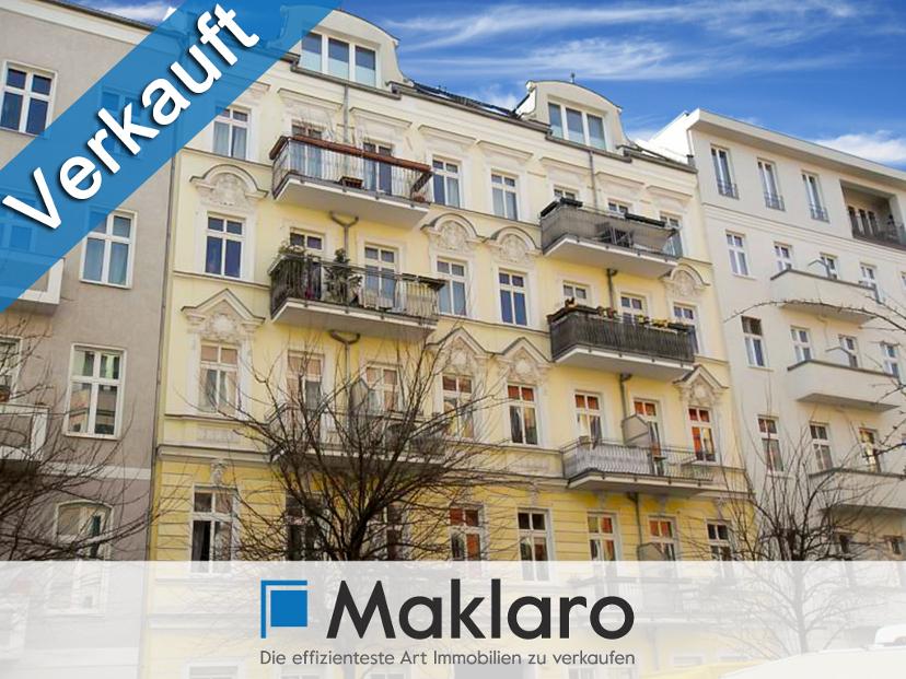 +++ Szeneluft & top-sanierter Gründerzeit-Charme+++1-Zimmer-ETW mit Balkon in Berlin/Winsviertel