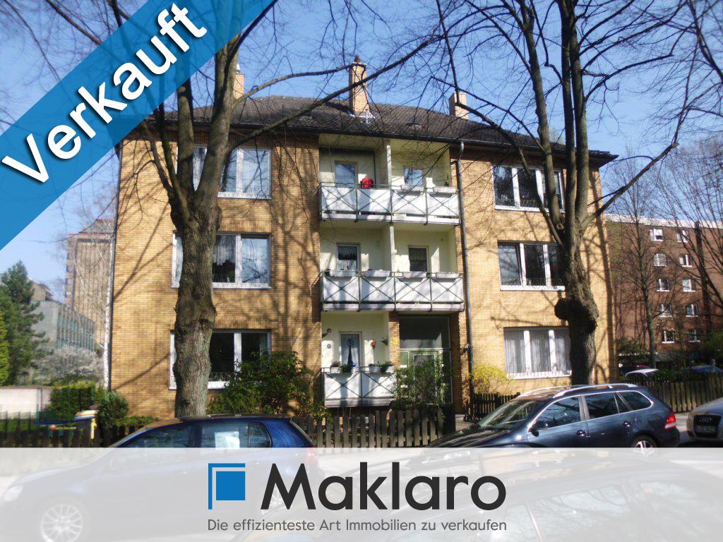 Zentrumsnahe 2-Raum-Wohnung mit optimaler Raumaufteilung - VERKAUFT