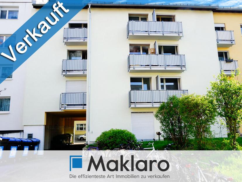 +++ Downtown-Wohnen Nähe Zoo +++1-Zimmer-Eigentumswohnung mit Balkon in Karlsruhe