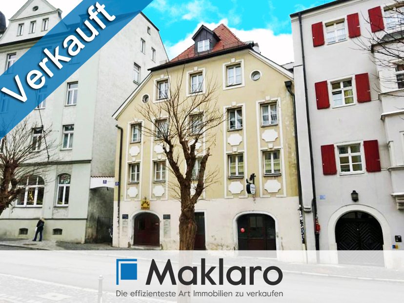 Kernsaniertes 6-Parteienhaus aus dem 18. Jahrhundert als Kapitalanlage im Zentrum von Regensburg ++ VERKAUFT