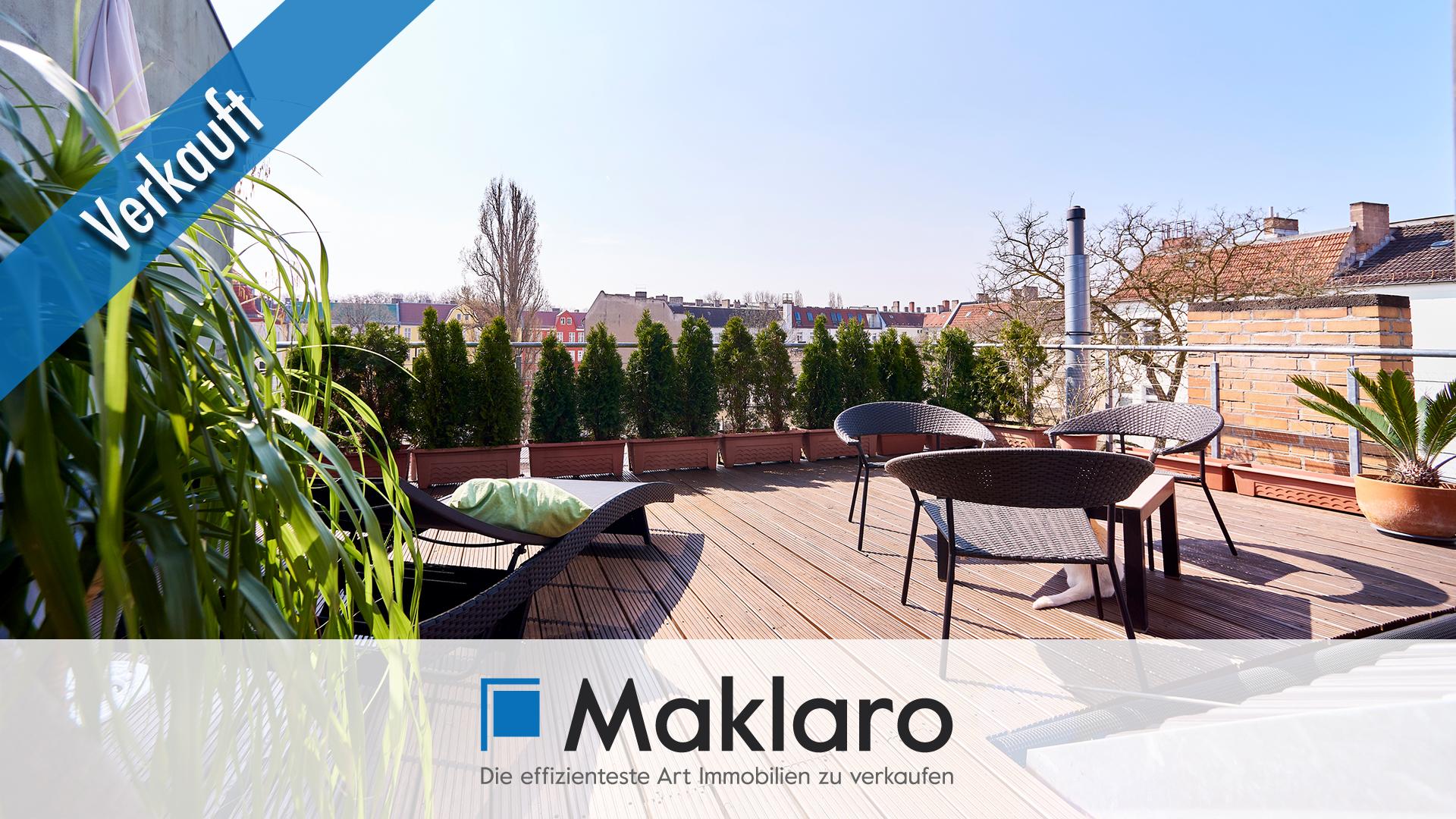 Premium-Dachflair am Bellevuepark +++ 6-Zimmer-Eigentumswohnung mit Loggia und Dachterrasse