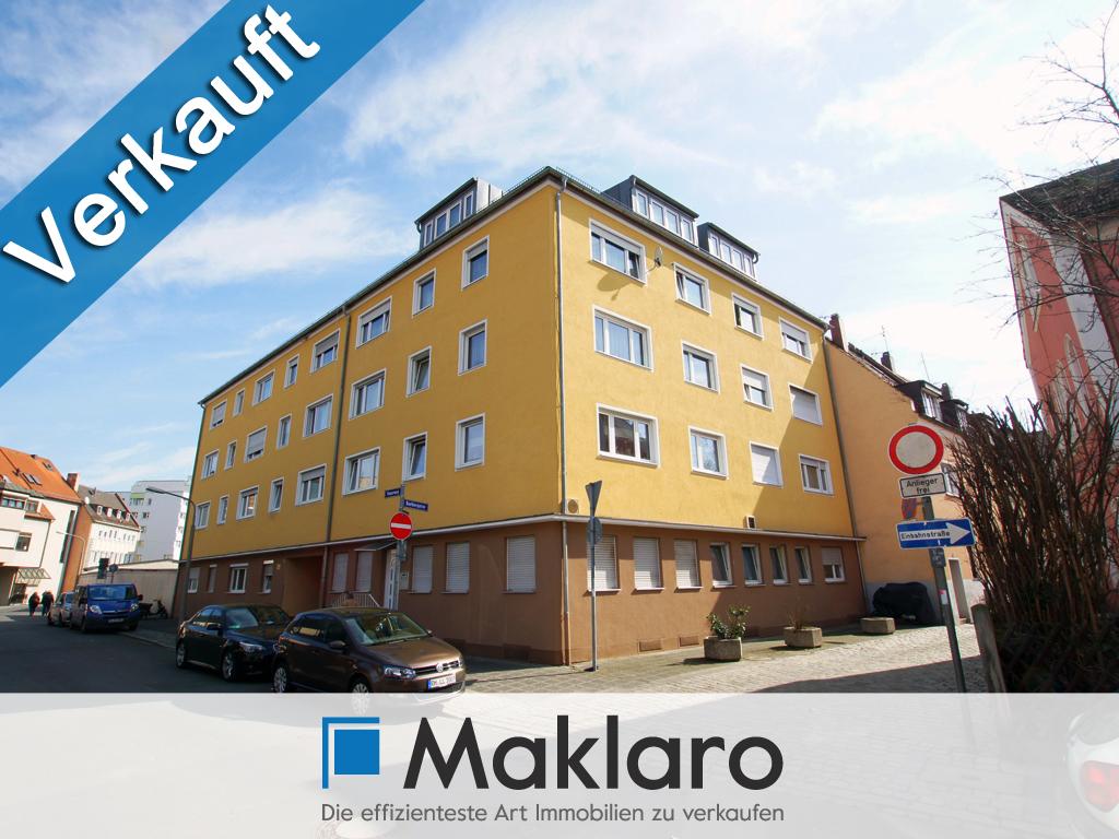 Architektonisch-kreative Dachgeschosswohnung in Nürnberg-Gostenhof ++ VERKAUFT