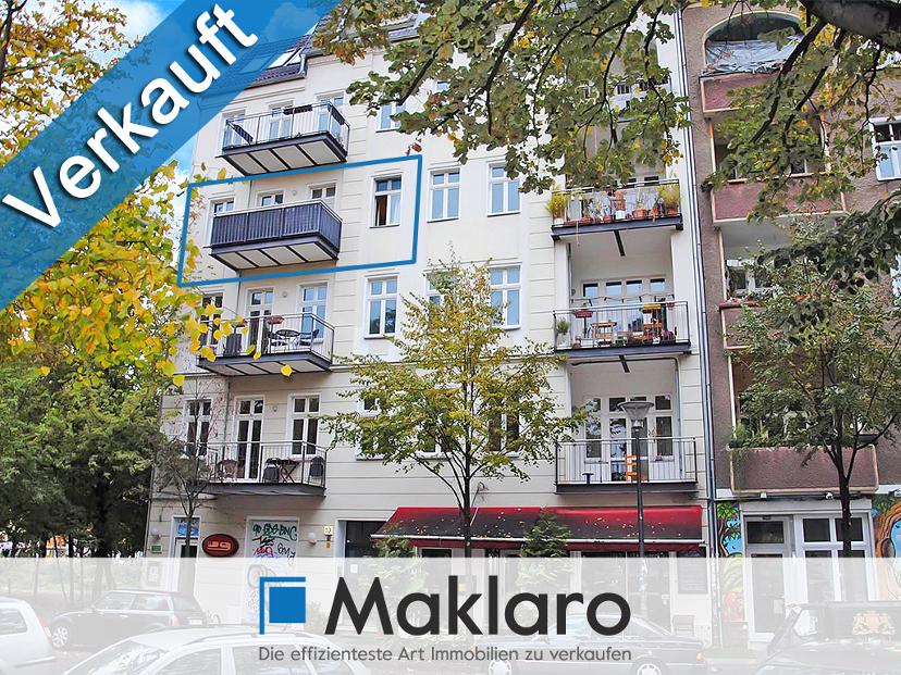 +++ Premiumwohnung im Gründerzeit-Stadthaus +++ Attraktive 2-Zimmer-Eigentumswohnung mit Balkon in Berlin VERKAUFT