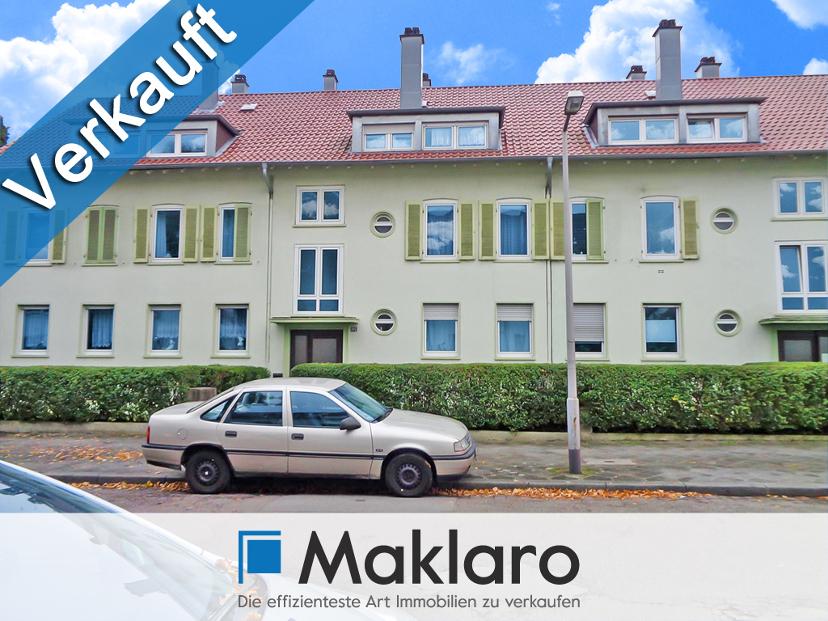 +++ Luftiger Dachausbau fürs kleine Budget! +++ 2-Zimmer-Eigentumswohnung mit Garage in Mannheim VERKAUFT
