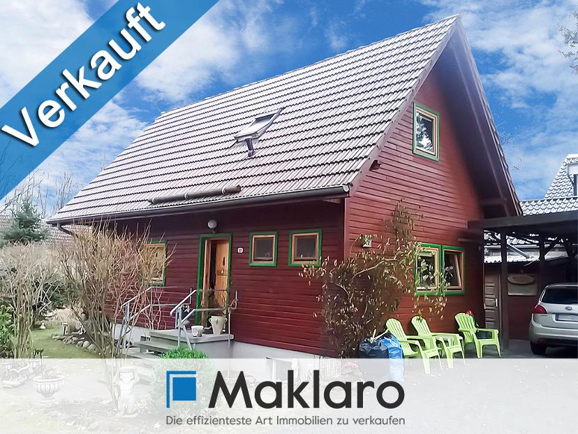 +++ STOPP! - Familienwohntraum im Grünen +++ Energie-Blockhaus mit Garten in Mahlow