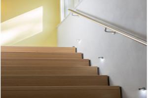 Treppen stellen eine Barriere dar