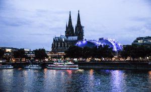 Köln zu Wasser