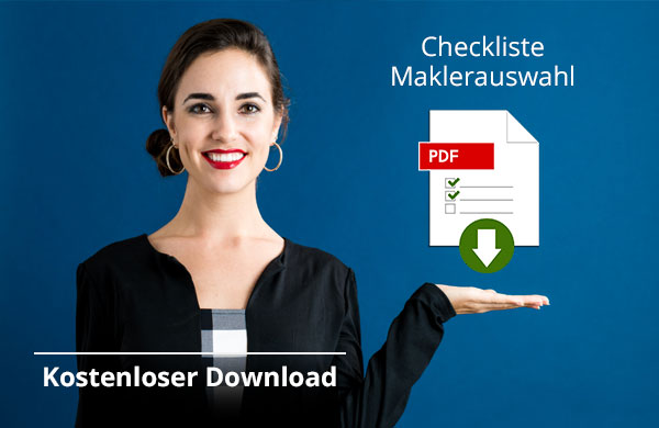 Titelbild: Checklist Maklerauswahl, Kostenloser Download