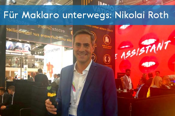 Nikolai Roth auf der ExpoReal 2018