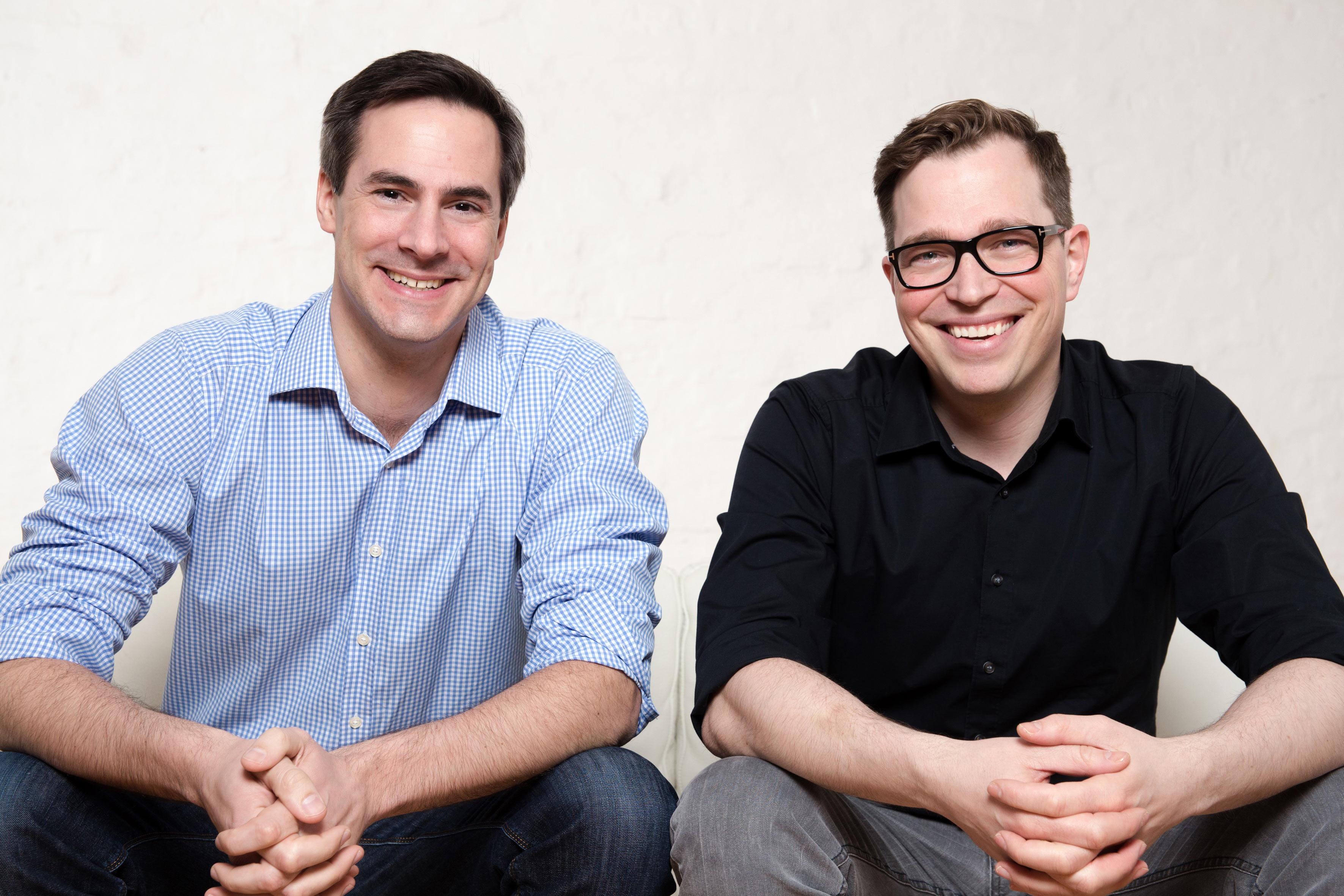 Maklaro Geschäftsführung, Nikolai Roth und Cord-Christian Nitzsche