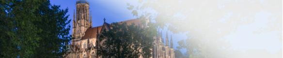 Banner für Stuttgart mit Kirche