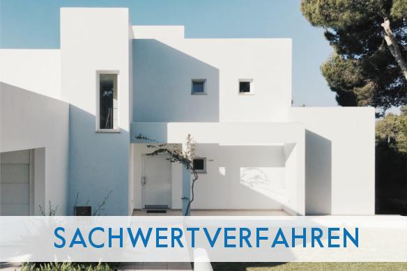 Titelbild Sachwertverfahren Haus in Bauhausstil