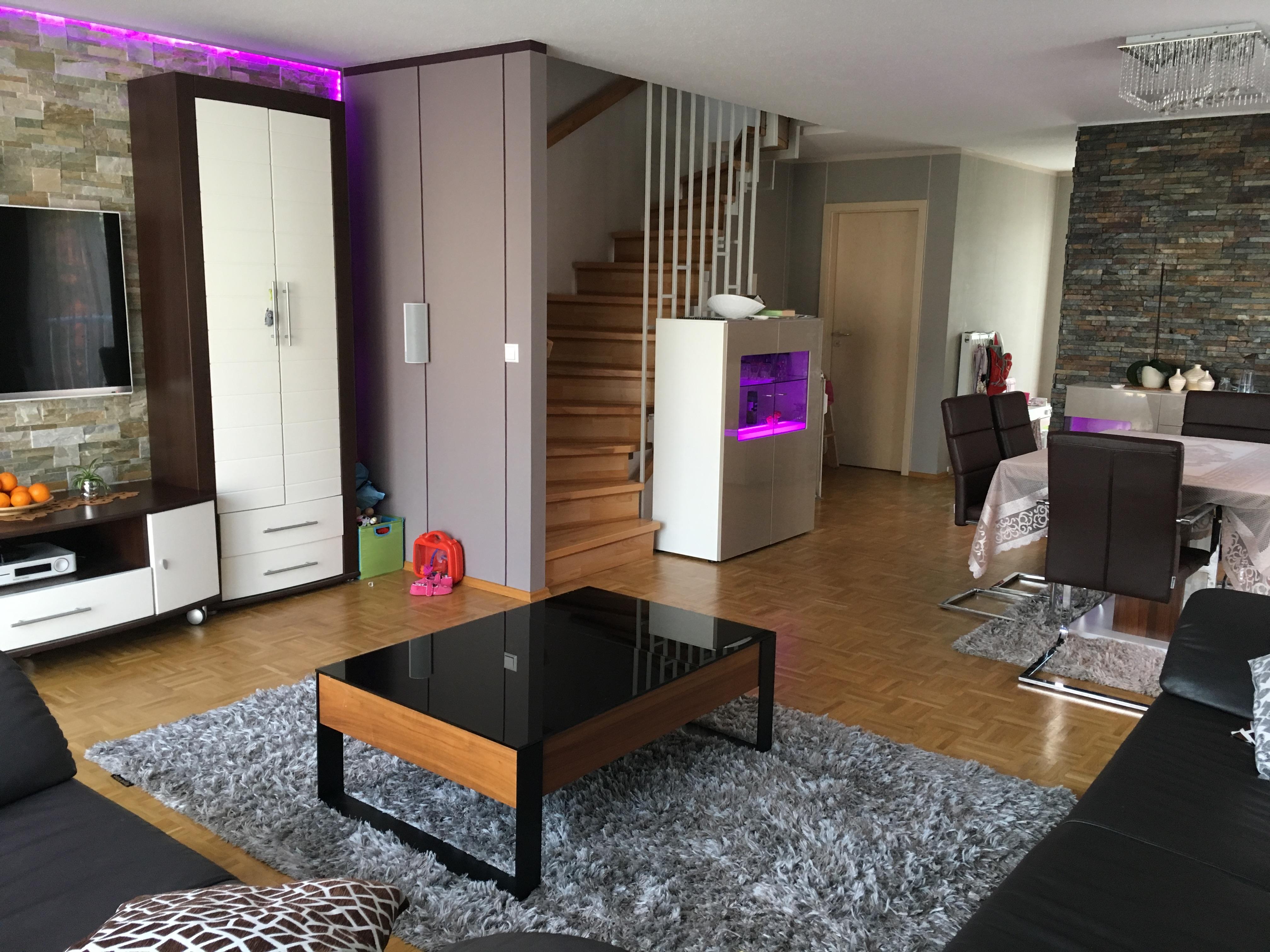 puristisches clever wohnkonzept reihenendhaus mit garten. Black Bedroom Furniture Sets. Home Design Ideas