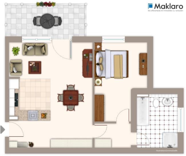 top sanierte 70 qm wohnung. Black Bedroom Furniture Sets. Home Design Ideas