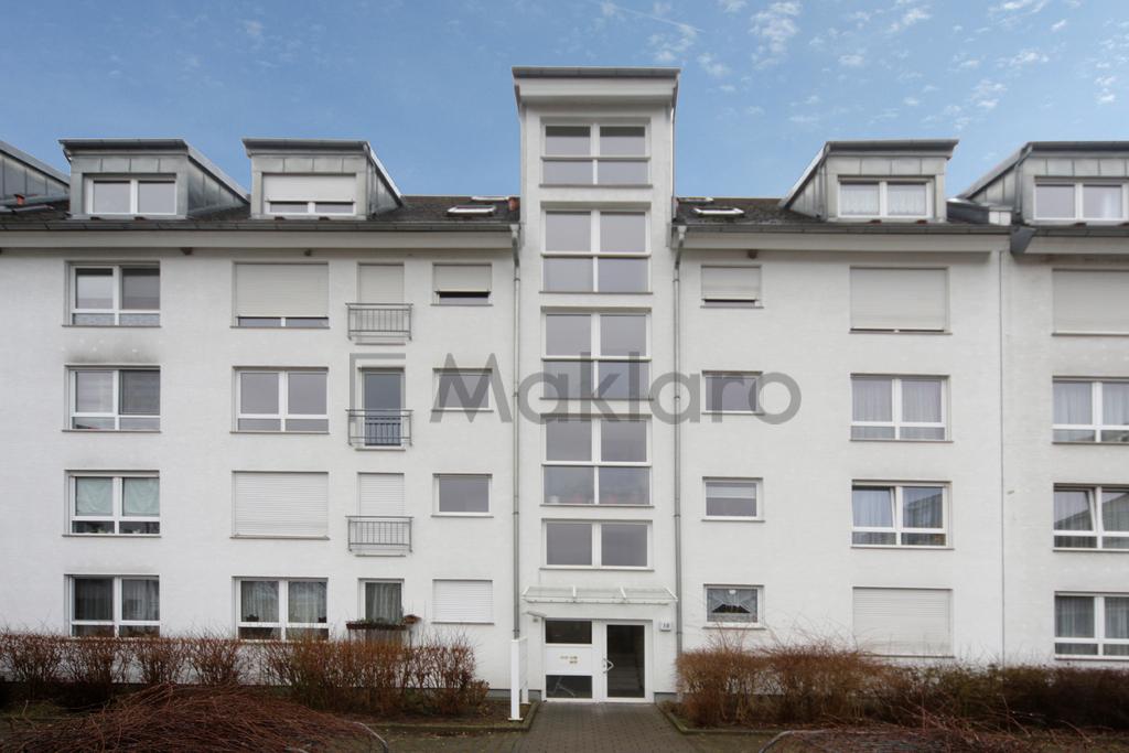 Lichtdurchflutete Maisonette mit Balkon am Grünen Bogen ...